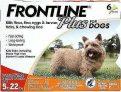 """FRONTLINE פלוס לכלבים קטנים (2-9 ק""""ג)"""