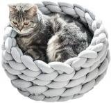 מיטת חתול סרוגה מפנקת